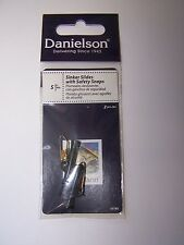 100 Danielson Large 1.5 Inch Fishing Sinker Slides Black With Safety Snaps
