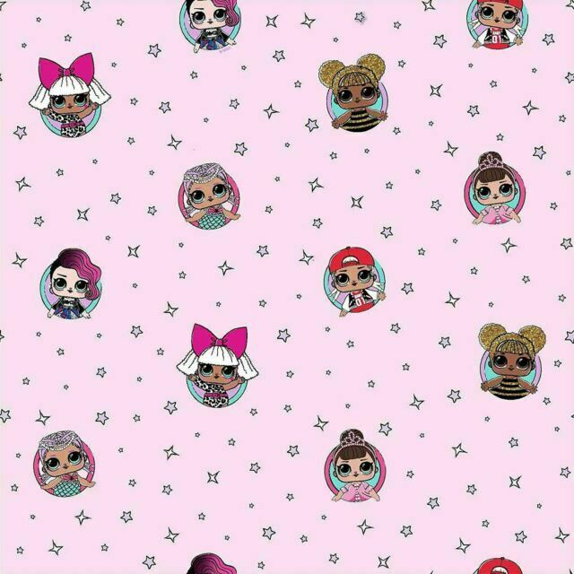 Debona Lol Surprise Dolls Kids Bedroom Wallpaper 53cm X 10m Pink Wp4 Lol Frd 12 For Sale Online Ebay