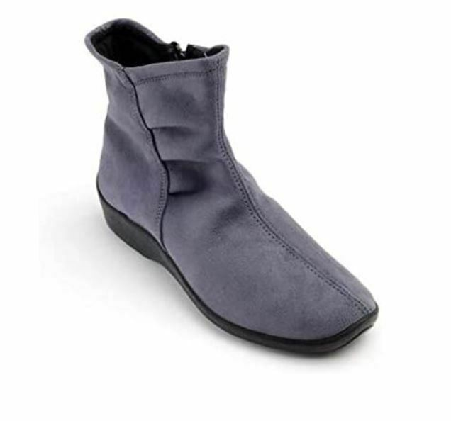 NEW Arcopedico L19 Ankle Boot Womens 7 Gray Portugal Lytech Upper Arch Support