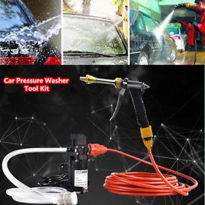 12V 65W High Pressure Car Electric Washer Water Self-priming Pump Washing Tool