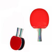 Table Tennis Ping Pong Racket Single Paddle Bat Blade Long Handle