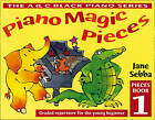 Piano Magic Pieces Book 1: Graded Repertoire for the Young Beginner by Jane Sebba (Paperback, 2000)