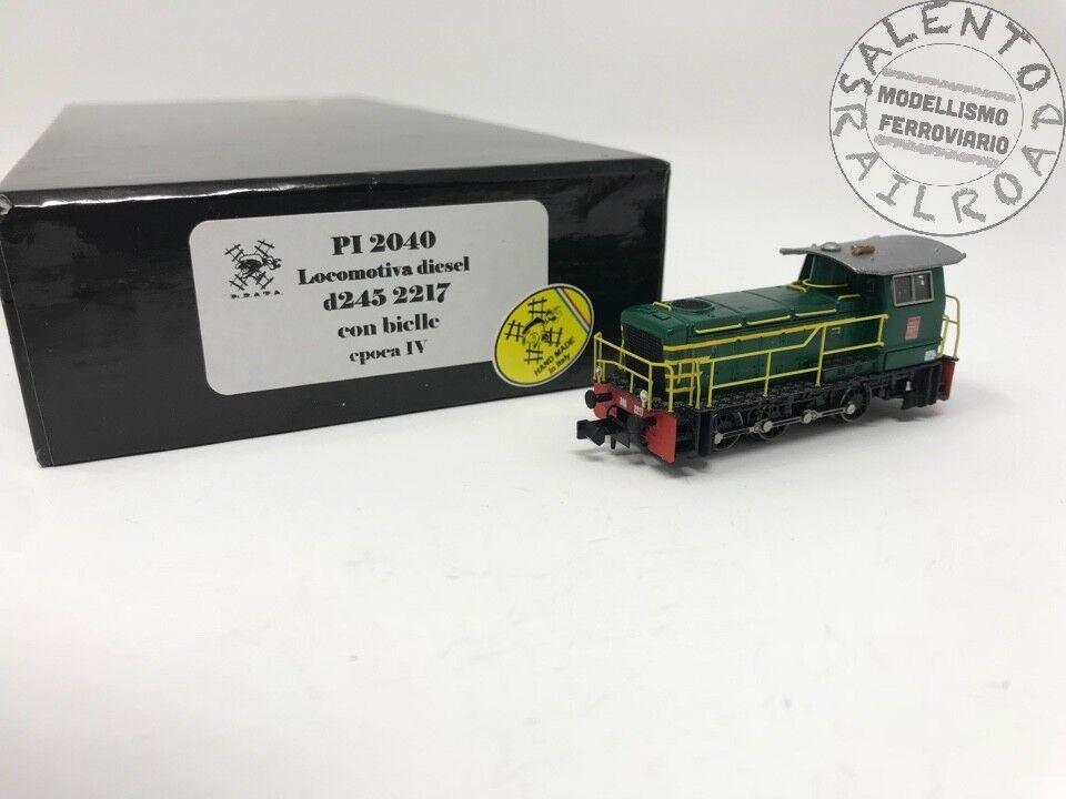 Pirat 2040 Lokomotive diesel FS D245 2217 mit Pleuelstangen - Spurweite n