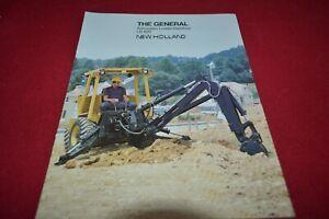 Ford Tractor 655A Backhoe Loader Tractor Dealer/'s Brochure DCPA2