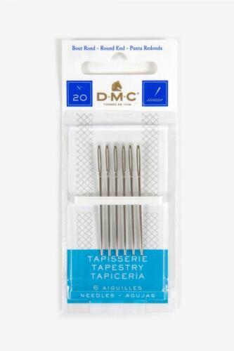 DMC Aiguilles-Tapisserie-taille 20-6 AIGUILLES
