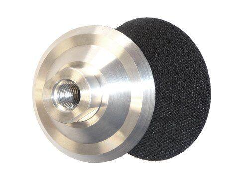 5//8-11 Thread for Diamond Polishing Pads 5 Inch Aluminum Backer Pad 15 Pieces