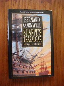 Bernard-Cornwell-Sharpe-039-s-Trafalgar-Fine-2001-HC-1st-American-Ed-w-DJ