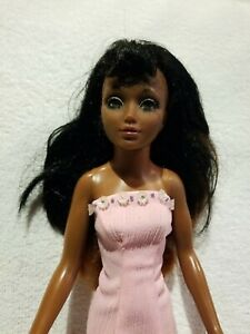 Ideal-Tiffany-Taylor-Doll-Rare-Black-African-American-Vintage-1974-excellent