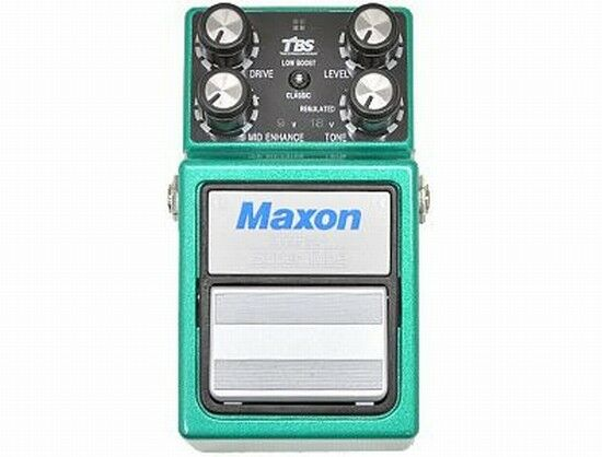 MAXON ST9Pro + Super Tube Effects Pedals Over Drive New Made in Japan From Japan