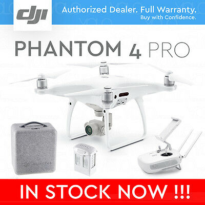 "DJI PHANTOM 4 PRO DRONE with Gimbal Camera with 1"" CMOS Sensor. 4K 60fps."