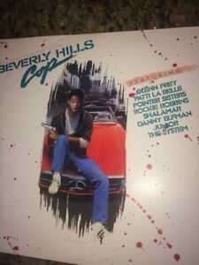 Image Is Loading 1984 Beverly Hills Cop Lp Vinyl Al Music