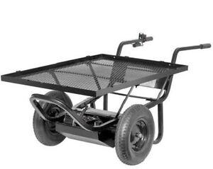 Paw Electric Motorized Platform Cart For Garden