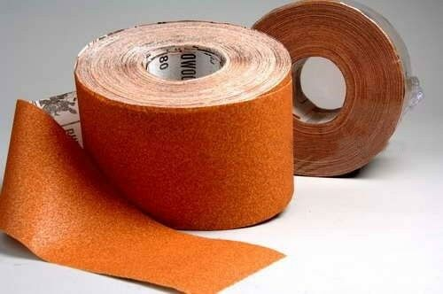 Rhynowood Papier abrasif-rôle 115 mm x 50 M K 100