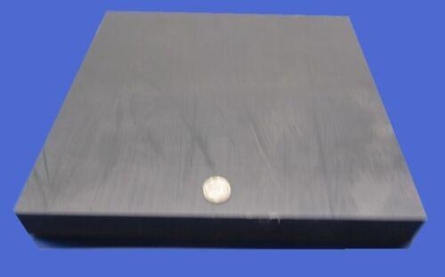 """1 1//4/"""" Nylon 6//6 Nylatron Lubricated Extruded Sheet 1.25/"""" x 12/"""" x 12/"""""""