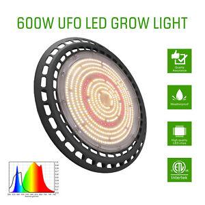Hydroponic 300w 600w Led Ufo Grow Light Kit Full Spetrum