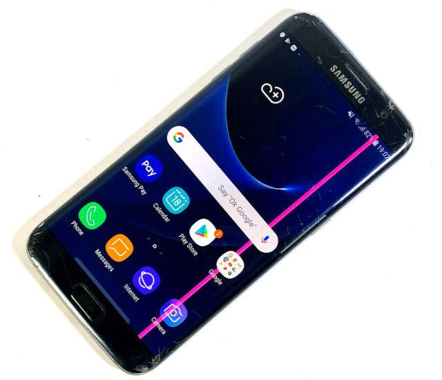 Samsung Galaxy S7 borde SM-G935F 32GB Negro (Desbloqueado) mal estado, funciona 149