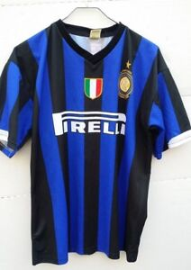 new concept 19b87 7251c Details about Inter Milan Football Jersey 100th Anniversary 1908-2008 No 8  Ibrahimović Size XL