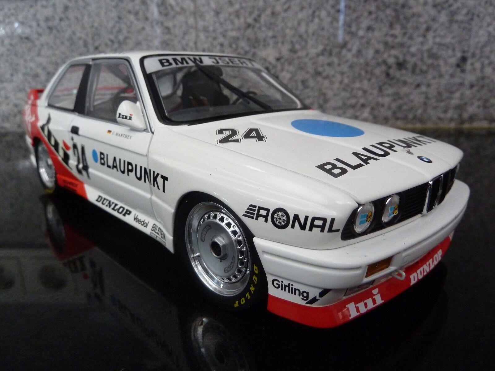 1 18 Minichamps, BMW M3,  24, O.Manthey, Lui, DTM 1987