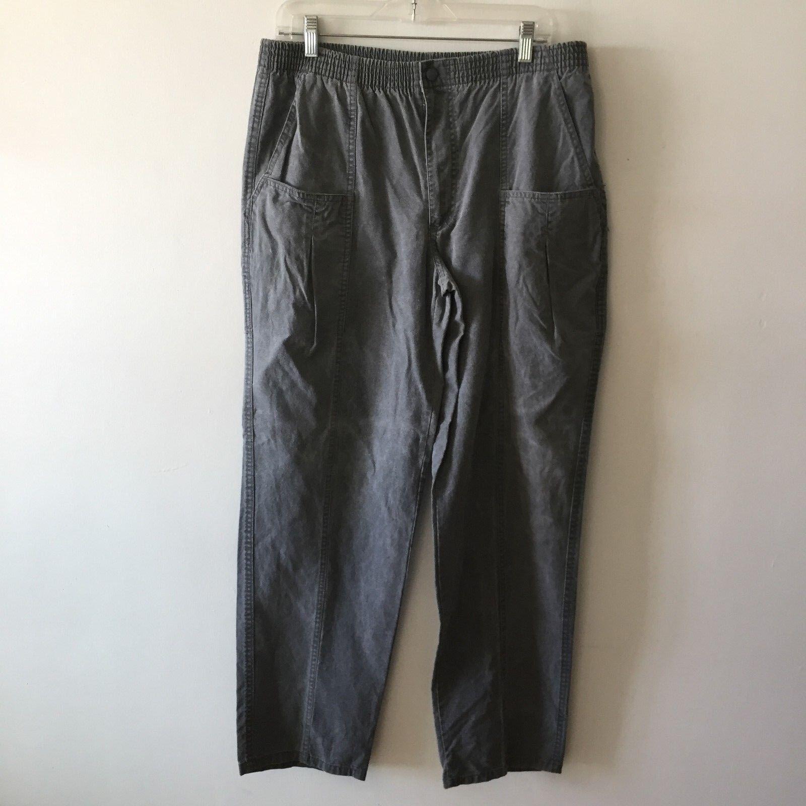 Ocean Pacific OP Vintage Lounge Pants Jams Cargo Elastic Stretch Men's 34