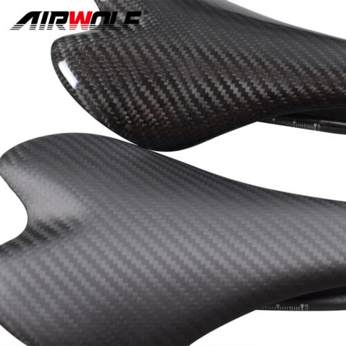 carbon fiber road bicycle handlebar cycling bike stem racing saddle 3K weave