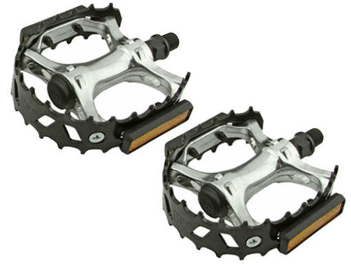"""Bicycle VP-747 Alloy Pedals 1//2/"""" Black 204-351 New"""