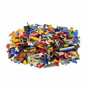 600-Teile-Lego-System-0-80-kg-Steine-Kiloware-Form-Farbe-zufaellig-bunt-gemischt