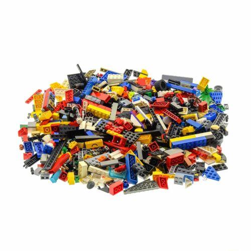 600 Teile Lego System 0,80 kg Steine Kiloware Form Farbe zufällig bunt gemischt