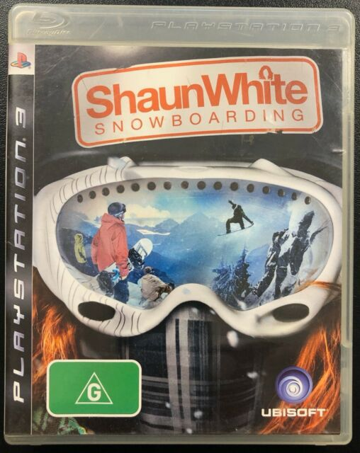 Shaun White Snowboarding for PlayStation 3 in Box with Manual PS3