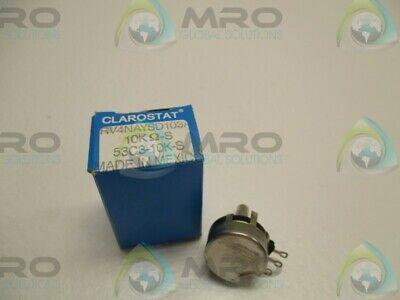 CLAROSTAT RV4NAYSD103A 53C3-10K-S POTENTIOMETER 10KOHMS NEW IN BOX *