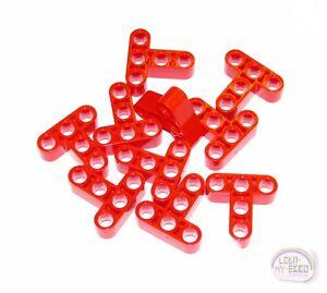 Liftarms LEGO Technic LBG - New 5 x Studless /'H/' Beams NXT, EV3 3x5