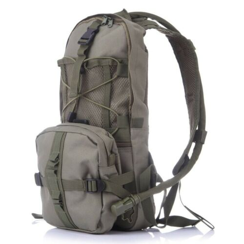Military Army Camel Back Hydration Bladder Day Pack Hiking Camouflage Backpack