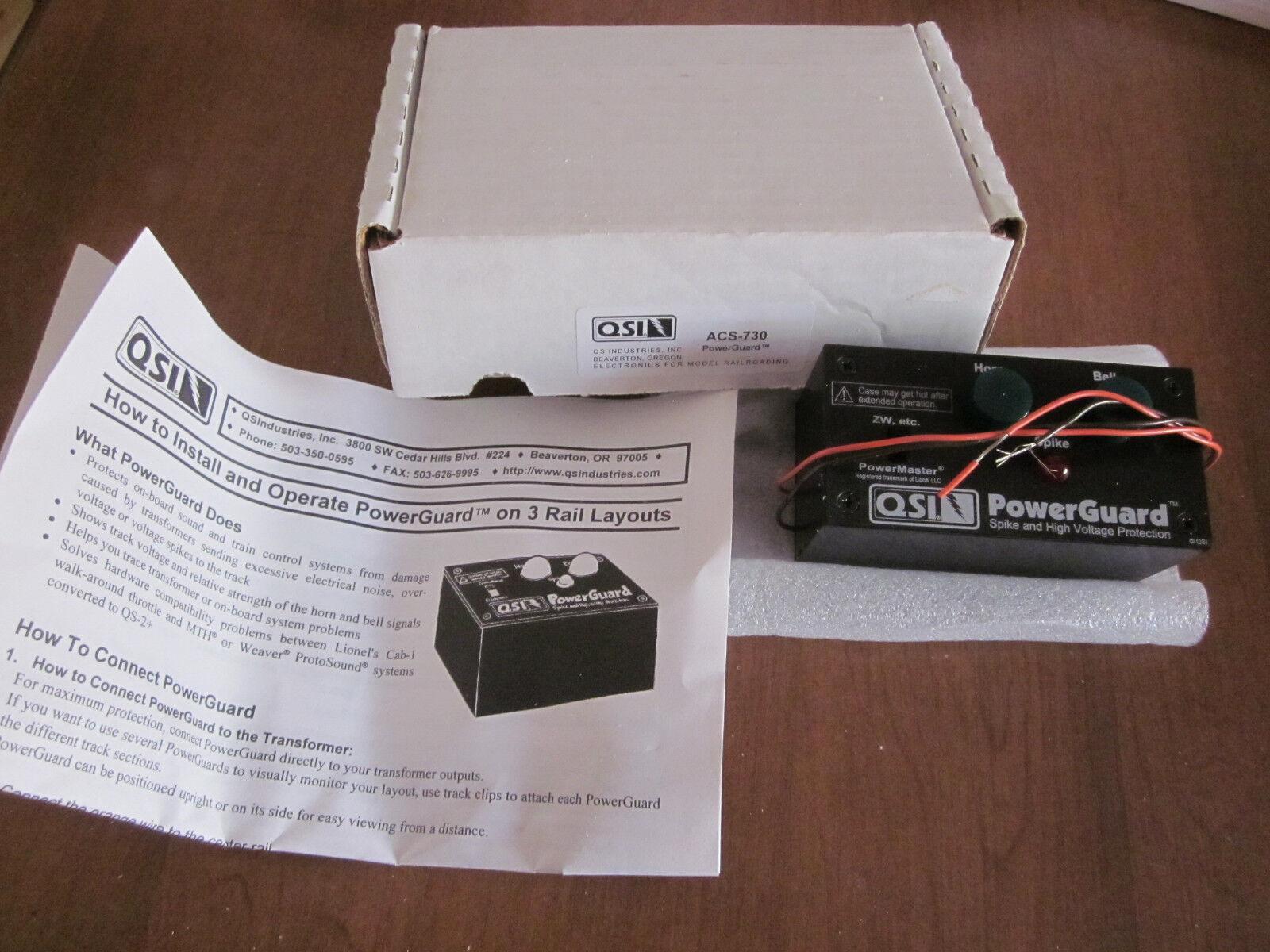 QSI ACS-730 3-Nuevo Projoector de Alimentación Electrónica de Cocheril para trenes modelo