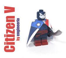 LEGO Custom -- Citizen V -- Marvel Super heroes Thunderbolts mini figure x-men