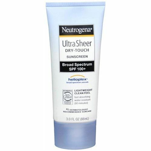 Neutrogena Ultra Sheer Dry-Touch Sunscreen SPF 100+ 3 oz (Special Of The Week)