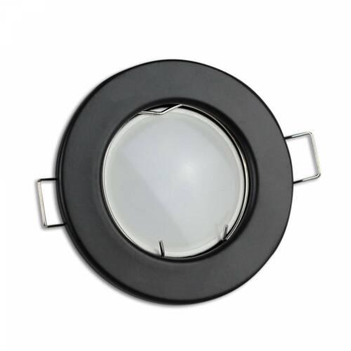 LED Einbaustrahler GU10 230 Volt 1,2-9W rund flach Spot Einbauleuchte Panel