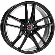 4 Revolution R28 20x8 5x45 40mm Blackmachined Wheels Rims 20 Inch Fits 2011 Toyota Camry