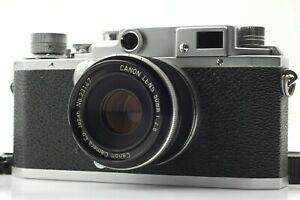Near-Mint-Canon-IID-Entfernungsmesser-35mm-Filmkamera-mit-50mm-f-2-8-l39-LTM-Japan