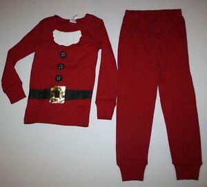NEW Gymboree Outlet Boy Girl Holiday Pajamas PJs 4 5 6 7 8 10 12 Santa Dress Up