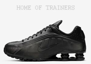 Triple Nike Shox Nere Ginnastica Le Tutte R4 Da Uomo Misure Scarpe vm08Nnw