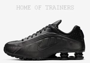 Le Scarpe Da Tutte Ginnastica Shox Triple Misure Nere Uomo Nike R4 3lJcFTK1