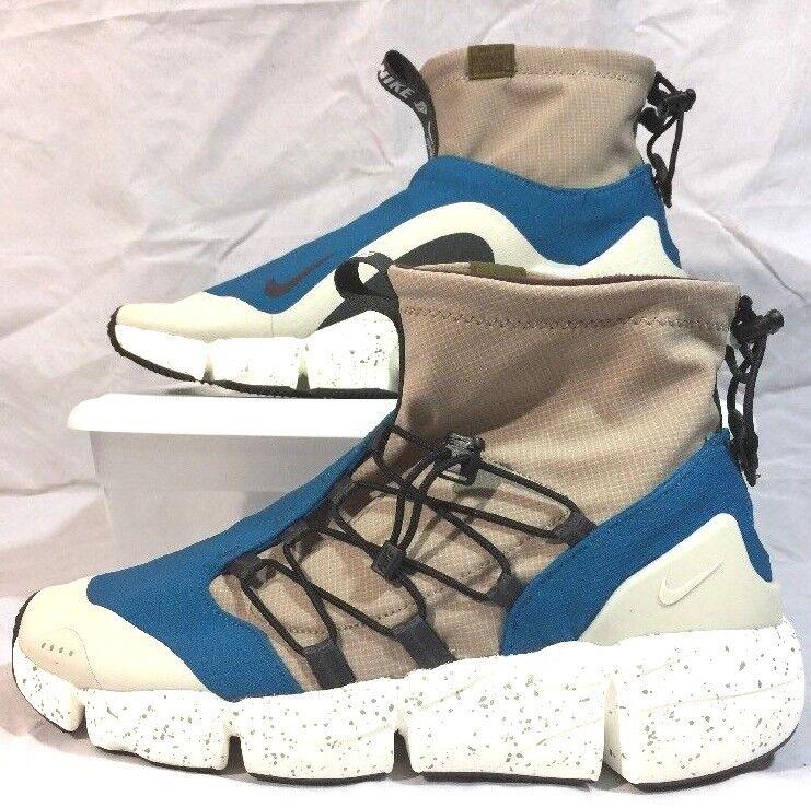 buy online 65b57 2b6fb Nike Air Footscape Mid Utility Men 10.5 10.5 10.5 Green Abyss Burgundy  Sepia C164 8eb5ee