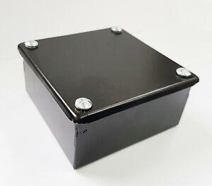 BG-Nexus-ADB3P-5-01-Plain-Noir-Adaptable-metal-Boites-Boite-100x100x50mm-4-034-x4-034-x2-034