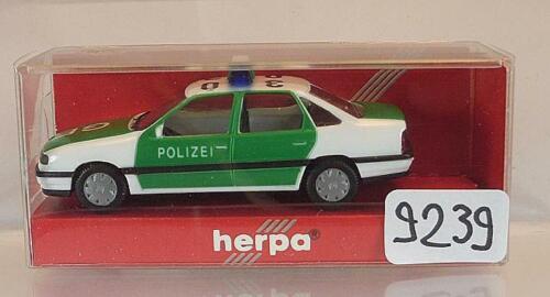Herpa 1//87 Nr.042000 Opel Vectra Viertürer Polizei OVP #9239 A