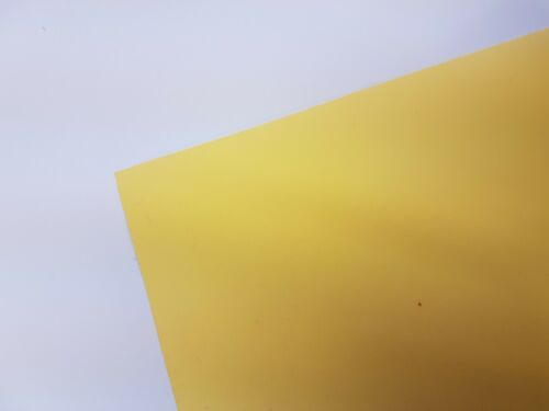 A4 to A1 Craft Card 270gsm Bright Yellow Heavy Card for Craft and Display