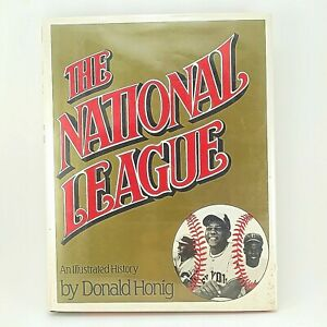 National-League-An-Illustrated-History-by-Donald-Honig-1983-Baseball