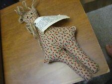 "Vintage Handmade Dammit Doll Original Stress Reliever Floral Pattern Cloth 12"""