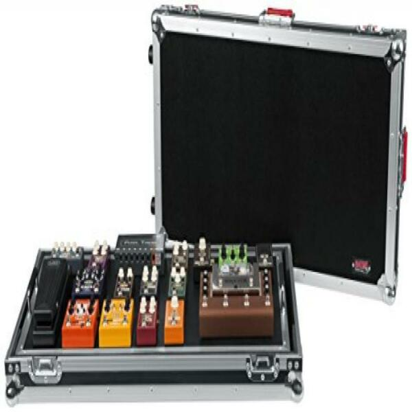gator cases g tour extra large guitar pedal board with wheels for sale online ebay. Black Bedroom Furniture Sets. Home Design Ideas