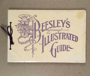Charleston SC: 1939 Souvenir BEESLEY'S ILLUSTRATED GUIDE TO ST. MICHAEL'S CHURCH