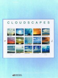 722-37c-Cloudscapes-3878-USPS-Commemorative-Stamp-Panel
