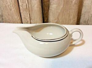 Vintage-Carillon-Harmony-Porcelain-Creamer-w-Gold-Rim-Fine-China-USA